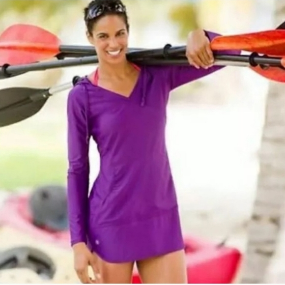 Athleta Wick-It™ Wader Coverup in Purple  Size M